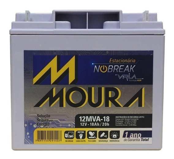 Bateria  Selada VLRA 12V 18AH Moura