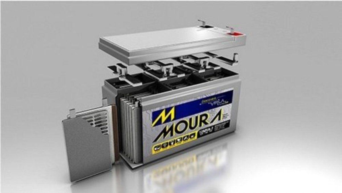Bateria Selada VLRA Moura 7A/h