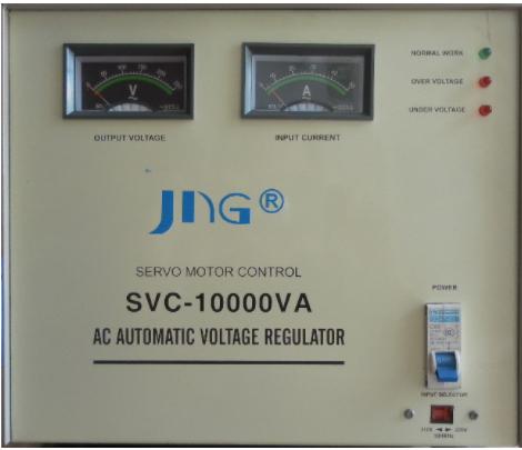 Estabilizador de Tensao 10 kva JNG SVC-10  - 220v