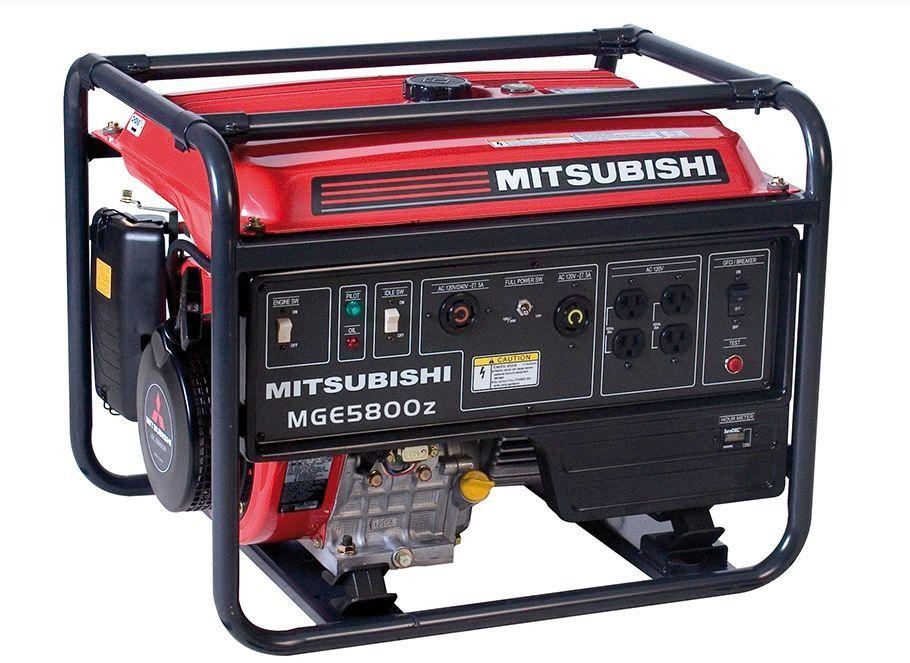 Gerador de Energia Mitsubishi a Gasolina MGE-5800Z (5,8KVA)
