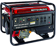 Gerador de Energia Mitsubishi MGE 5800Z Part  Eletrica