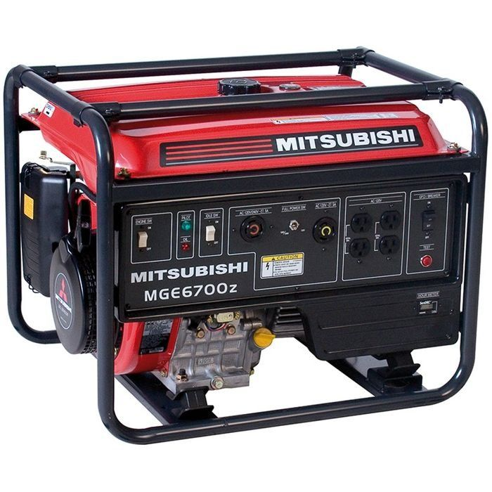 Gerador  de Energia  MITSUBISHI - MGE 6700Z-ROA