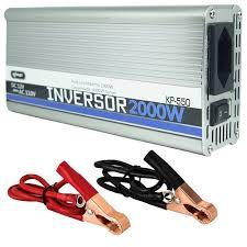 Inversor 2000w - Semi-Senoidal entrada 24v saida 110v