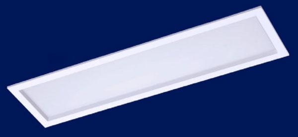Luminaria LED Embutir 120x30cm MAXTEL 48w