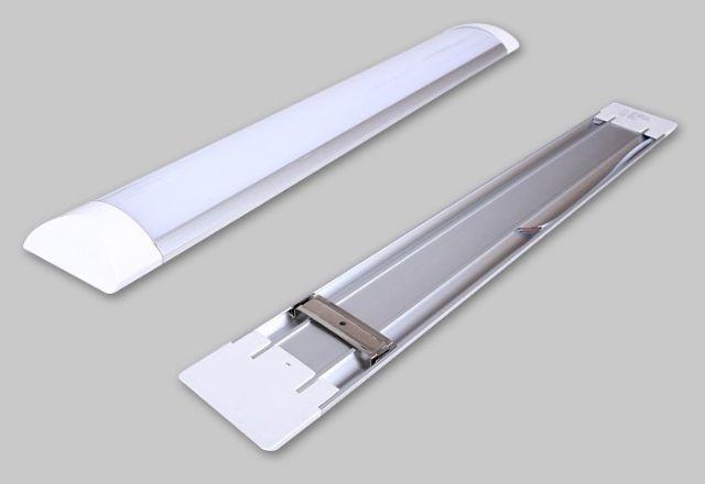 Luminária Led Linear de Sobrepor 36w 1,20m 6500k Bivolt