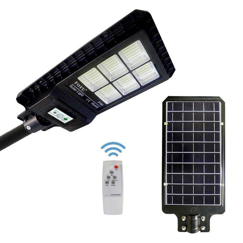 Luminaria Publica Solar 180w integrada