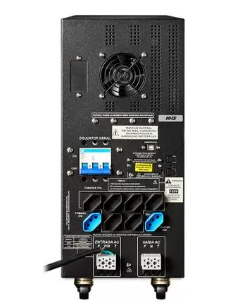 No-break NHS Laser 3300 Ext SENOIDAL ( 03 bat 45 A/h interna )