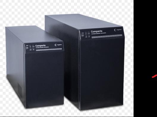 Nobreak  Engetron Compacta 3000c de 3KVA  Bivolt 120/220V