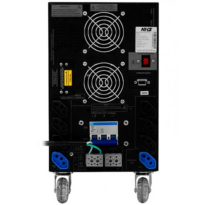 Nobreak NHS Prime 7500 - 110 e 220v simultaneo