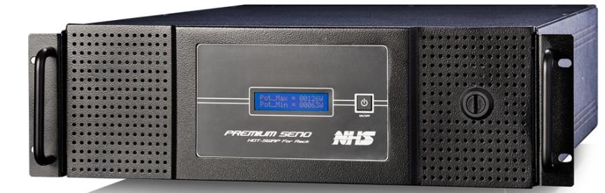 Nobreak NHS Premium Senoidal Rack 3000 Va Biv