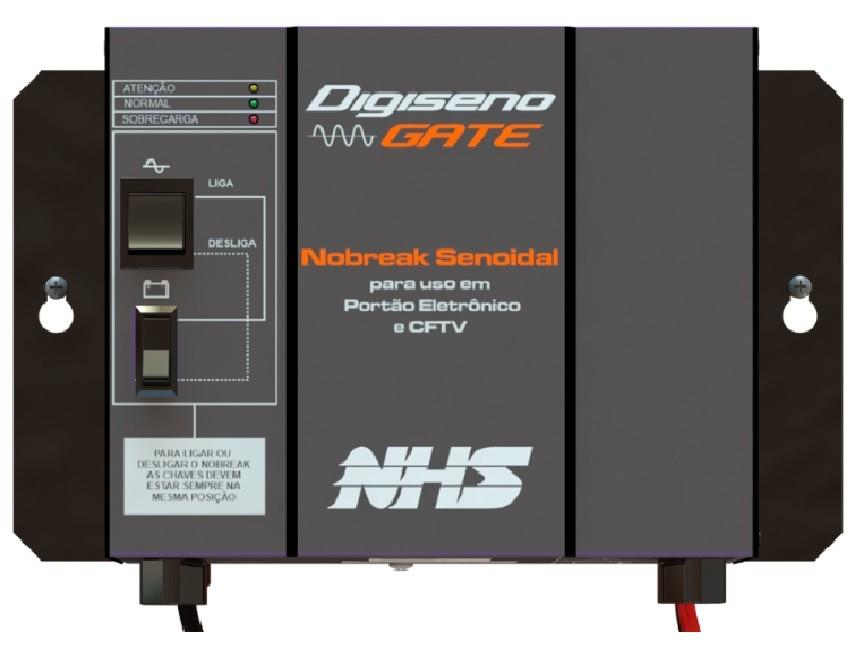 Nobreak para portão de garagem NHS Dig-seno gate  3/4HP