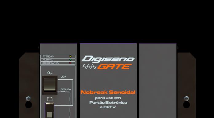 Nobreak para portão NHS Digiseno Gate  1/2 HP Senoidal