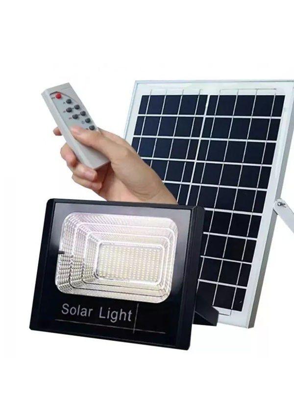 Refletor Solar LED  300w com  bateria e painel solar