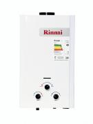 Aquecedor de Água Rinnai M11 - Vazão 11 Litros - Gás GN