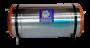 Boiler Elétrico Horizontal Azul 100 Litros Aço Inox 304 Alta Pressão - Bivolt