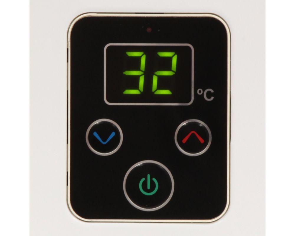 Aquecedor de Água Rinnai E21 Digital - Vazão 21 Litros - Branco - Gás GN
