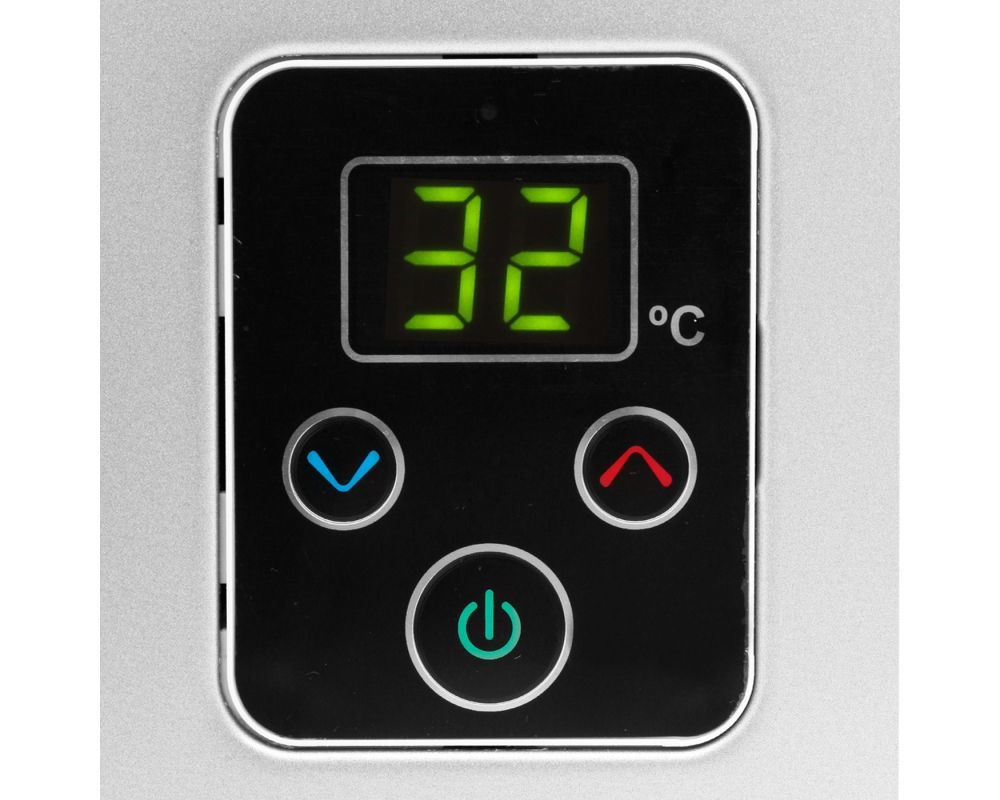 Aquecedor de Água Rinnai E21 Digital - Vazão 21 Litros - Prata - Gás Natural - GN