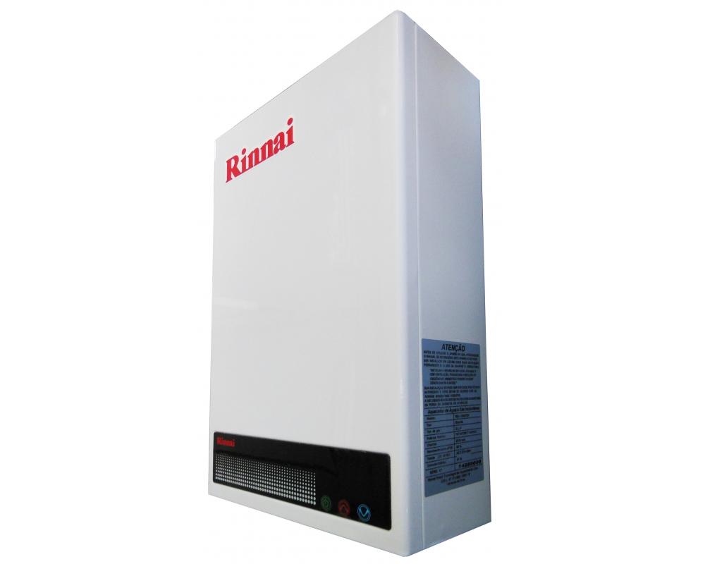 Aquecedor de Água Rinnai REU 1002 FEH Digital - Vazão 12 Litros - Gás GN