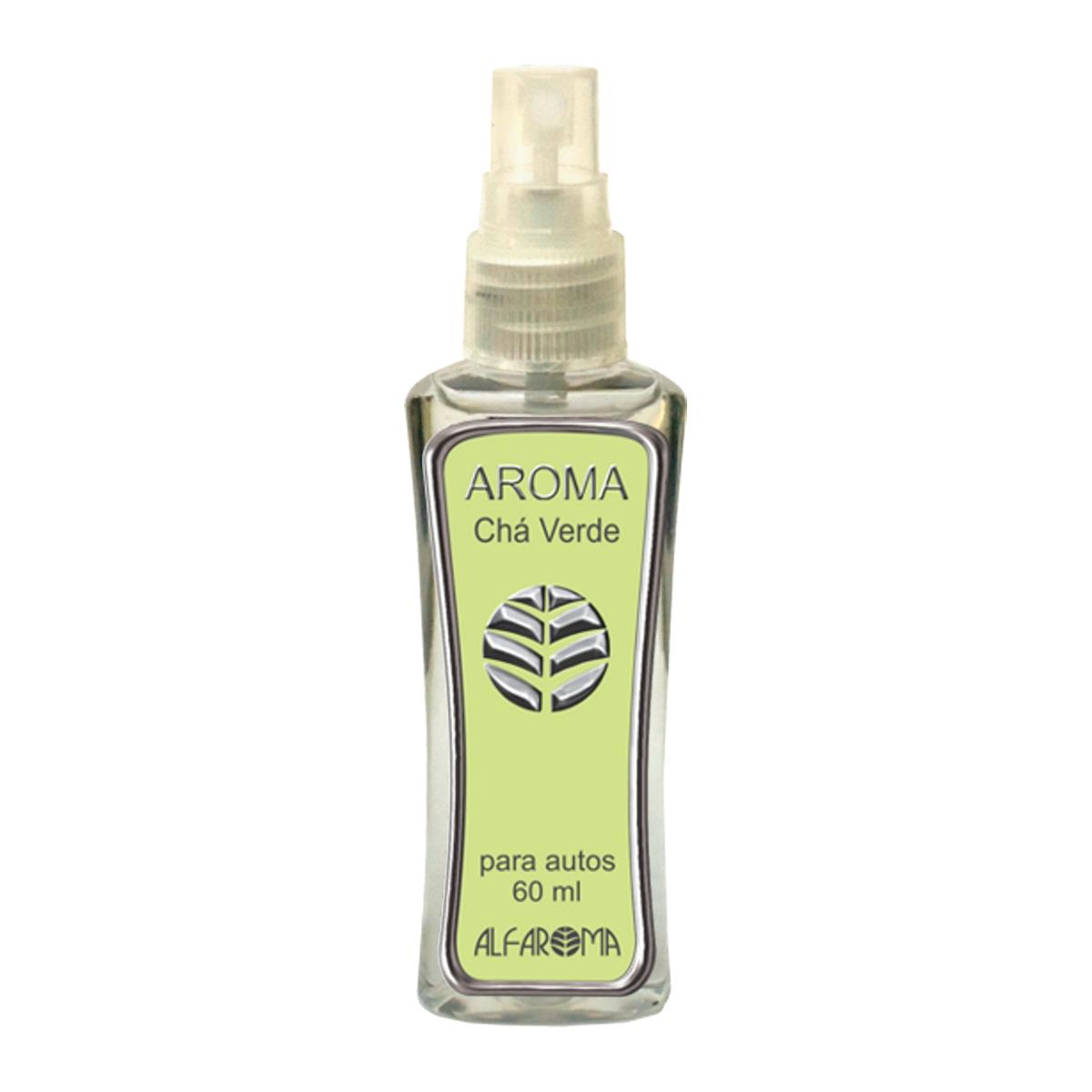 Aromatizador Aroma para Autos Chá Verde 60ml - Alfaroma