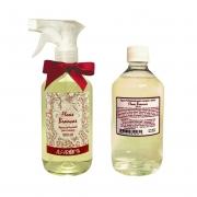 Água Perfumada para Roupas Flores Brancas + REFIL