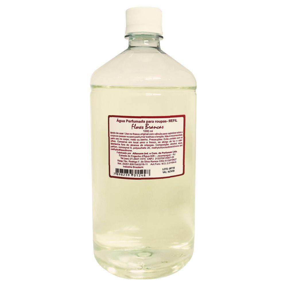 Água Perfumada para Roupas Flores Brancas - Alfaroma
