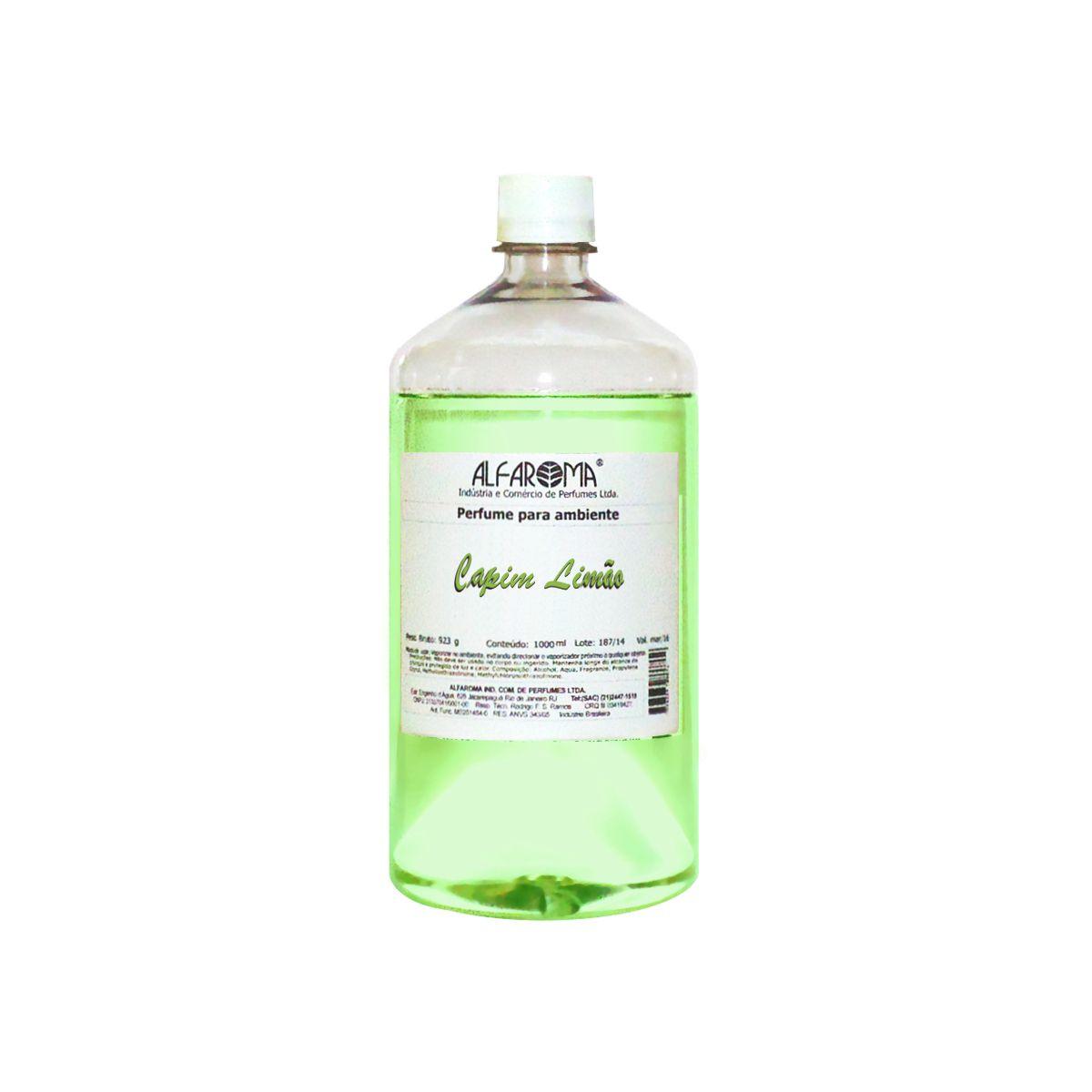 Perfume para ambiente Capim Limão - Alfaroma
