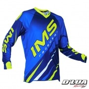 Camisa IMS ACTION AZUL E VERDE FLUORESCENTE 2016