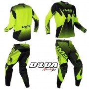 CONJUNTO IMS START - VERDE FLUORESCENTE