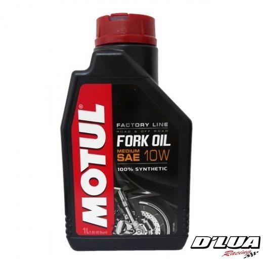 Óleo para suspensão  MOTUL - 1 LITRO FORK OIL FACTORY MEDIUM SAE 10W