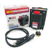 Auto Transformador 3000VA 2100W Bivolt Tomada 20A com Protetor Térmico Proteção Contra Sobrecarga Emplac F30060