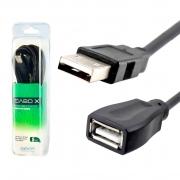 Cabo Extensor USB 2.0 5 metros AM+AF com Filtro Exbom CBX-U2AMAF50