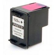 Cartucho de Tinta Compatível HP 122xl 122 / Deskjet 1000 1050 1055 2000 2050 3000 3050 3050A / Preto / 12ml