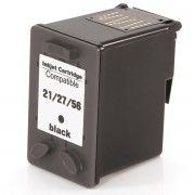 Cartucho de Tinta Compatível HP 21 27 56 / F4180 F380 J3680 D2360 D2460 3910 3920 3930 3420 D1455 D1360 / Preto / 18ml