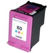 Cartucho de Tinta Compatível HP 60xl 60 / F4480 F4280 F4580 D1660 C4680 C4780 D110 F4210 F4440 D2560 / Colorido / 11.5ml