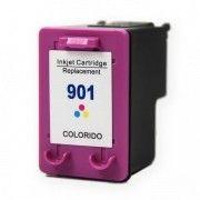 Cartucho de Tinta Compatível HP 901 / OfficeJet J4540 J4550 J4580 J4680 J4660 J4500 J-4540 J-4550 4580 / Colorido / 13ml