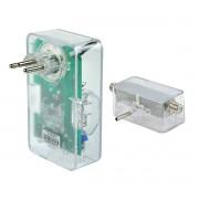 Combo DPS Clamper 3 Tomadas 10A Bivolt Energia 3 + iClamper Cabo para Conector Coaxial de Proteção contra Raios e Surtos