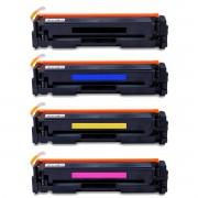 Compatível: Kit Colorido de Toner CF500A CF501A CF502A CF503A para HP M281nw M281fdn M281fdw M280nw M254dn M254dw M254nw