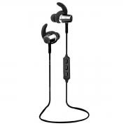 Fone de Ouvido Sem Fio Earphone Bluetooth Intra-Auricular com Microfone e Controle para Chamadas FB-BT1 Preto