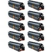 Kit 10x / Toner Compatível HP CB435A CB436A CE285A / P1102W P1102 P1109W M1132 M1120 M1522 1102W 1109W / Preto / 1.800