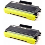 Kit 2x / Toner Compatível Brother TN650 TN620 TN580 TN550 / HL5340 HL5240 DCP-8060 8065 8080 8860 8065DN / Preto / 8.000