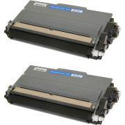 Compatível: Kit 2x Toner TN750 TN720 3382 para Brother DCP-8155 DCP-8112 8150 8512dn 8150dn HL6182 / Preto / 8.000