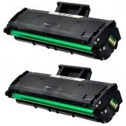 Kit 2x / Toner Compatível Samsung D111 MLT-D111S / Xpress 2020 2020W 2020FW 2022 2022W 2070W 2070FW / Preto / 1.000