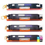 Compatível: Kit Colorido de Toner CE310A 311A 312A 313A para Impressora HP Color M175 M175a M175nw M175nw mfp 175nw