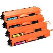 Compatível: Kit Colorido de Toner CF350A CF351A CF352A CF353A para Impressora HP M176 M176n M-176 M-176n