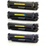 Kit Colorido 4 Cores / Toner Compatível HP CF410X / Color Laserjet M452 M477 M477FDW M452DN M477FNW M452NW M477FDN M452DW