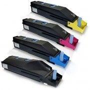 Kit Colorido 4 Cores / Toner Compatível Kyocera Mita TK867 TK-867 / TaskAlfa 250CI 250 TaskAlfa 300CI 300