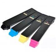 Kit Colorido 4 Cores / Toner Compatível Kyocera TK897 / Copystar CS205c CS255c FS-C8520MFP C8525MFP TaskAlfa 205c 255c