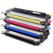 Kit Colorido 4 Cores / Toner Compatível Samsung CLT409 409S / CLP310 CLP315 CLX3170 CLX3175 CLP-310 CLP-315 3170 3175