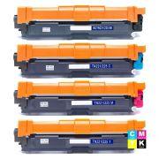 Compatível: Kit Colorido de Toner TN221 TN225 para Brother MFC-9130cdw HL-3140cw 3150cdw 3170cdw HL3140 HL3150 HL3170