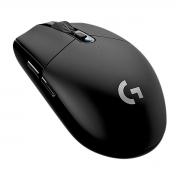 Mouse Gamer Sem Fio Logitech G305 LIGHTSPEED Sensor HERO 1m/s 6 Botões Programáveis Até 12.000 DPI Preto 910-005281